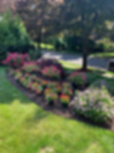 landscaper, lawncare, flowers, mower, landscape design