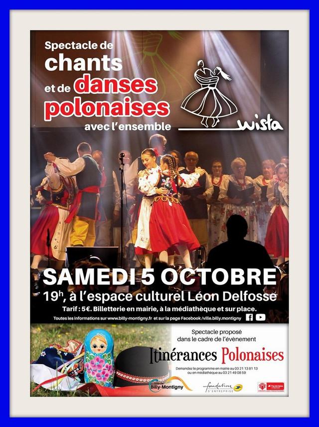L'ensemble WISŁA sera samedi 05 octobre à Billy-Montigny (cliquez sur l'affiche)