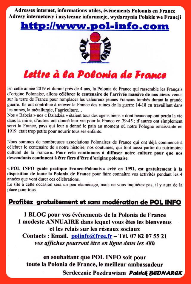 Lettre à la Polonia de France