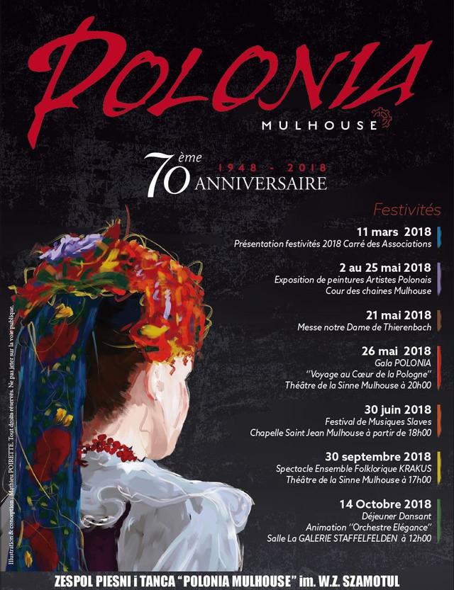 """""""POLONIA-Mulhouse"""" a 70 ans cette année"""