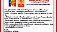 Devenez délégué du Souvenir Franco Polonais. Cliquez sur sur l'affiche et rejoignez nous.