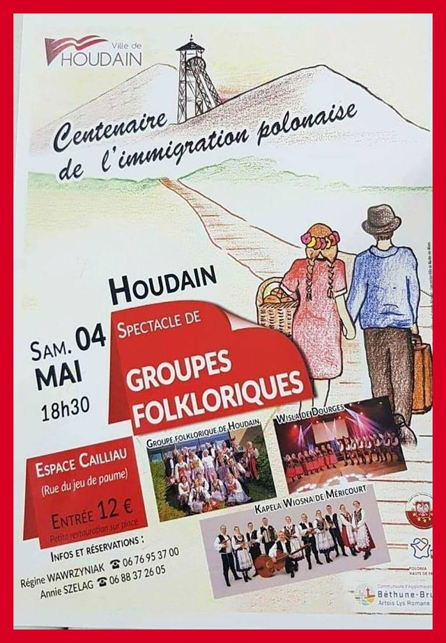 Spectacles de groupes folkloriques à HOUDAIN