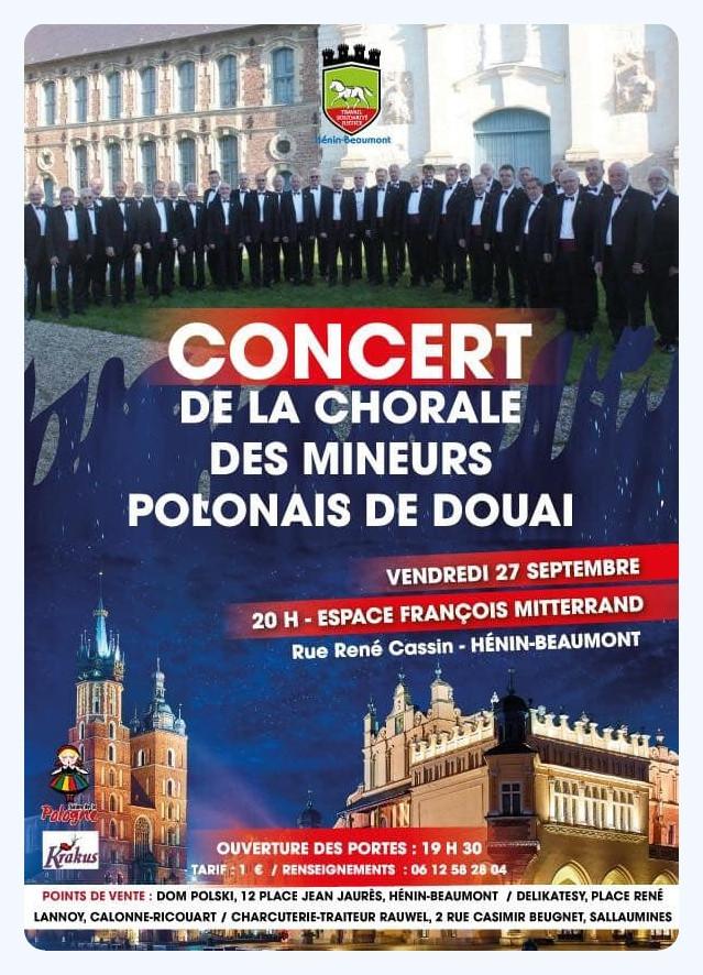 Concert à Hénin-Beaumont vendredi 27 septembre (cliquez sur l'affiche)