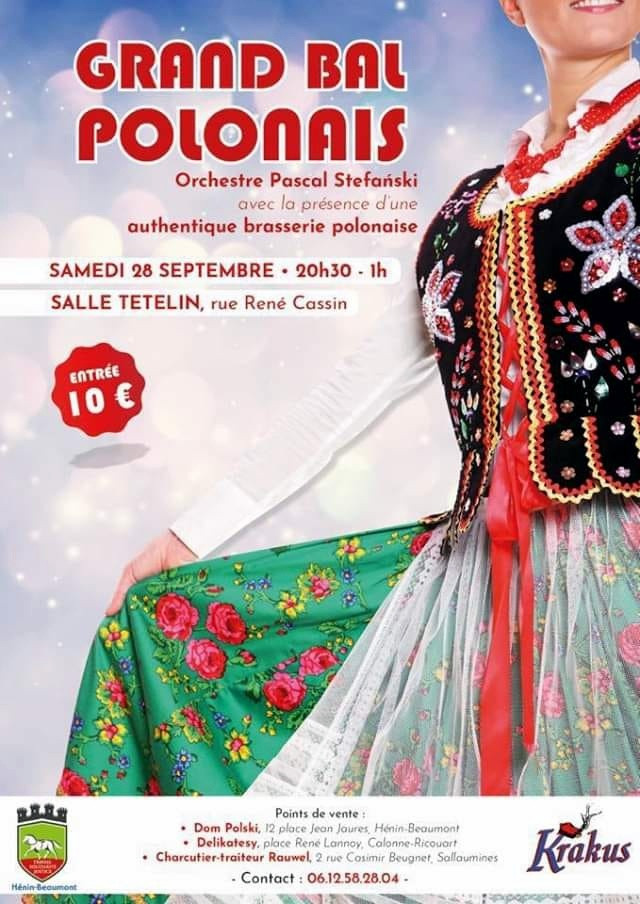 Grand bal POLONAIS à HENIN-BEAUMONT