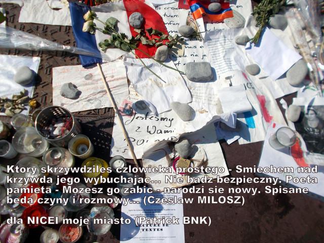 à la mémoire de Magdalena et Marzena à toutes les victimes de ma belle ville de NICE