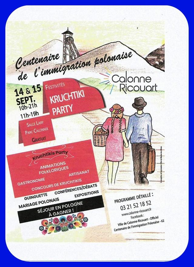 CALONNE-RICOUART fête le centenaire de l'immigration polonaise