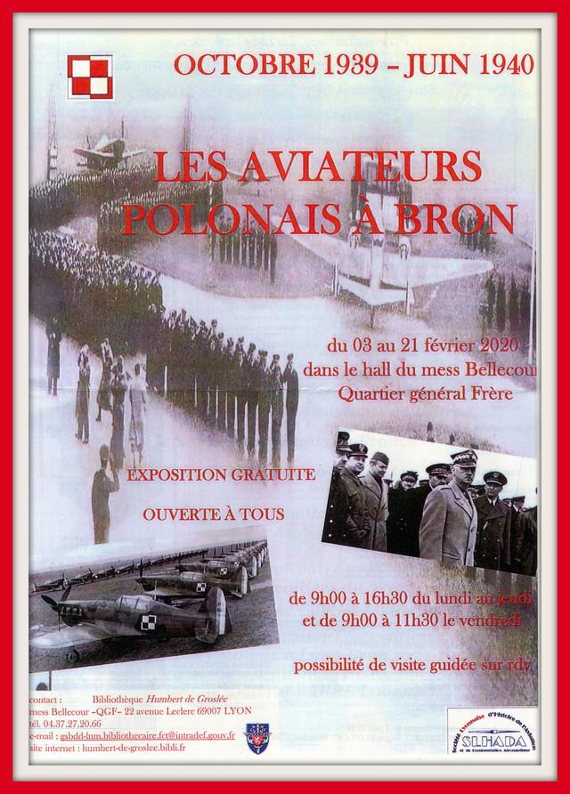 Les héros oubliés (les aviateurs polonais en France en 1940) - exposition à Lyon