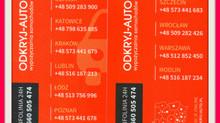 """Coup de coeur de POL INFO : """"ODKRYJ-AUTO"""" = très bonne société de location polonaise, pers"""