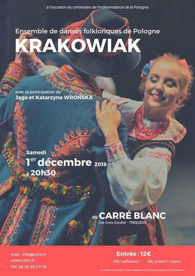 L'Ensemble KRAKOWIAK à Tinqueux