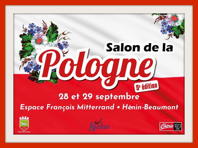 5ème Salon de la POLOGNE à HENIN-BEAUMONT (cliquez sur l'affiche)