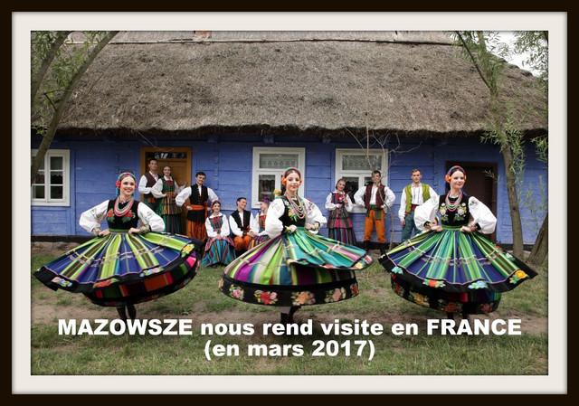 """Le ballet national de POLOGNE """"MAZOWSZE"""" bientôt en FRANCE"""