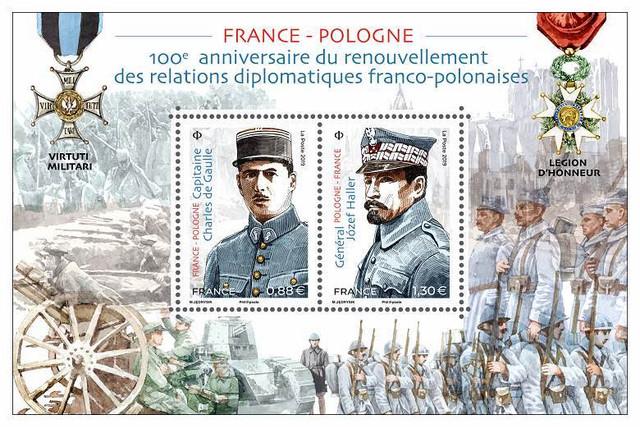 FRANCE-POLOGNE - LA POSTE va célébrer mardi 02 avril 2019 l'un des plus grands moments de l'