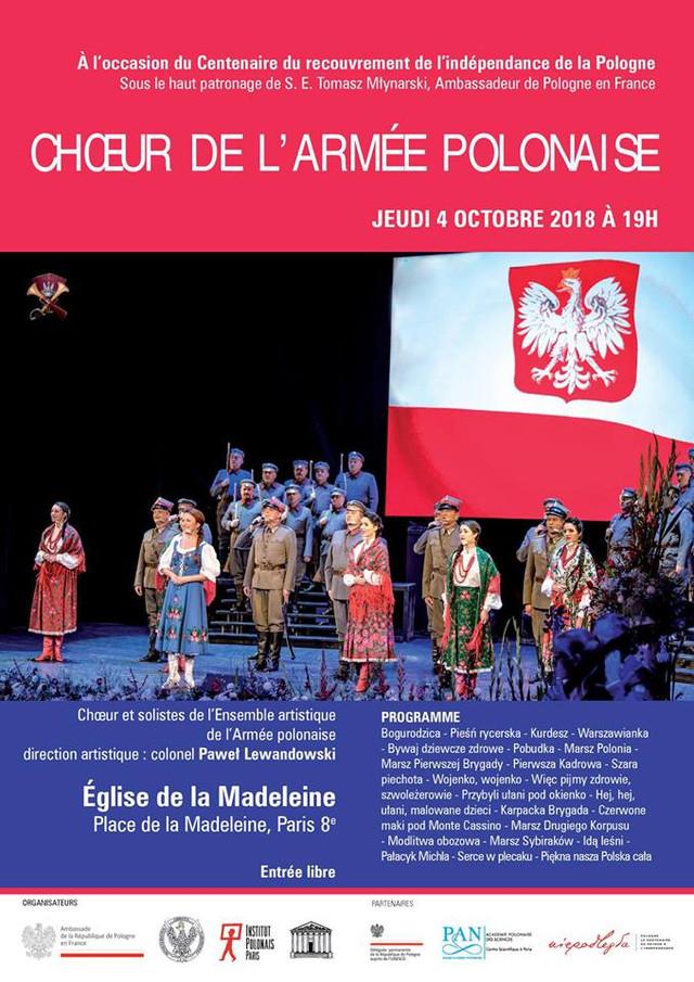 Le Choeur de l'Armée Polonaise à Paris