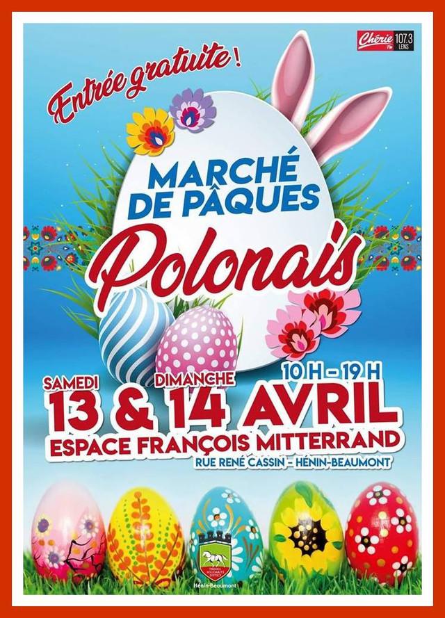 Marché de Pâques Polonais à Hénin-Beaumont