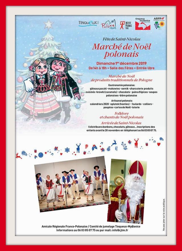 TINQUEUX (51) Marché de Noël le 01.12.2019 (cliquez sur l'affiche)