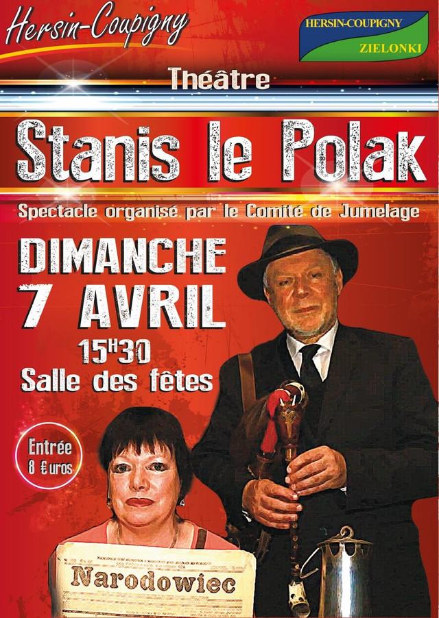 STANIS le POLAK sera à Hersin-Coupigny