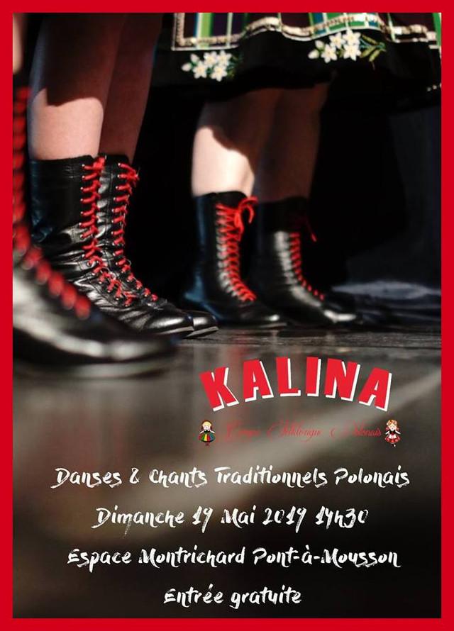 """le 19 mai """"KALINA de Pont à Mousson"""" présente son spectacle annuel à Pont à Mousson (54).&"""