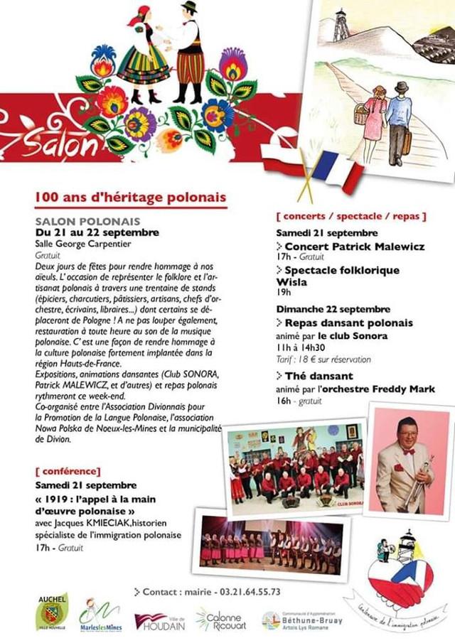 SALON POLONAIS DE DIVION les 21 et 22 septembre (cliquez sur l'affiche)