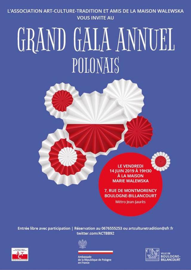 GRAND GALA ANNUEL POLONAIS le 14 juin 2019