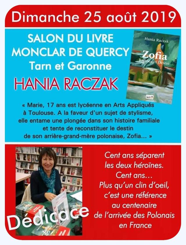 """""""ZOFIA Racines et Destin"""" de Hania RACZAK (cliquez sur l'afffiche)"""