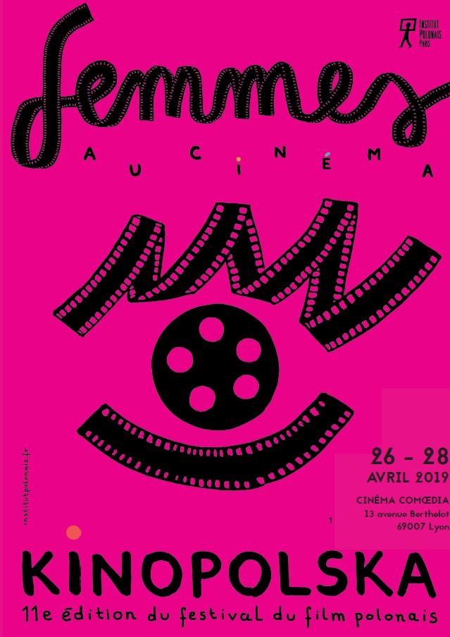 KINOPOLSKA (festival du film polonais) à LYON, c'est du 26 au 28 avril en partenariat avec le CO