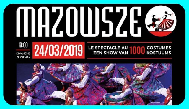 MAZOWSZE vous invite à BRUXELLES (cliquez sur l'affiche)