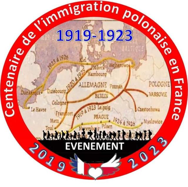 CENTENAIRE DE L'IMMIGRATION POLONAISE (2019-2023)