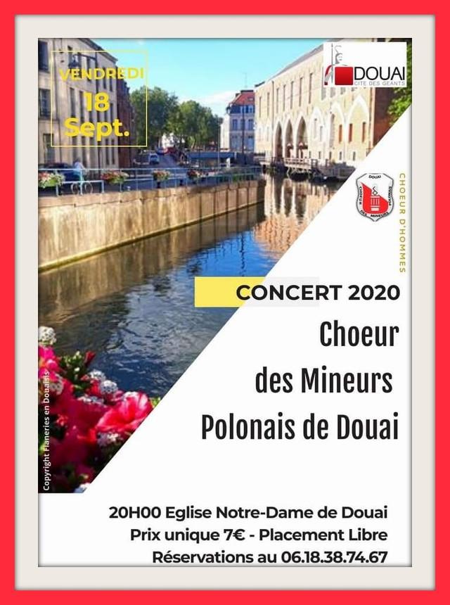 18 septembre 2020 : concert du CHOEUR DES MINEURS DE DOUAI (cliquez sur l'affiche)