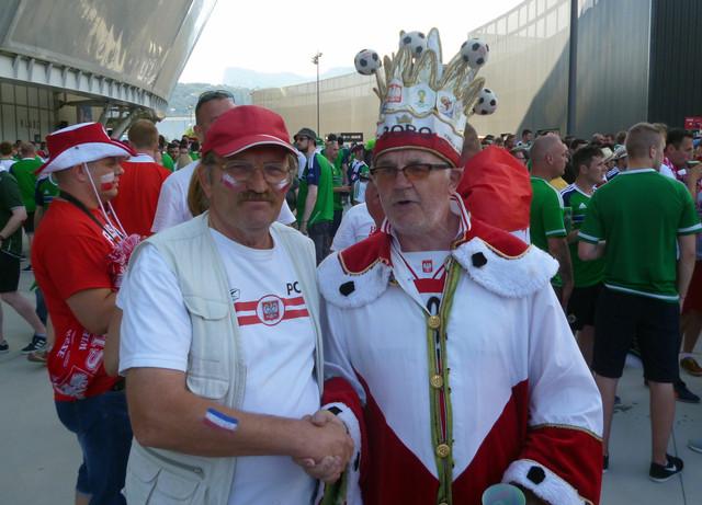 Match Pologne - Irlande du Nord à NICE cliquez sur l'image