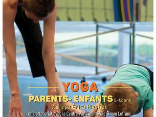 Atelier de YOGA PARENTS/ENFANTS - GRATUIT