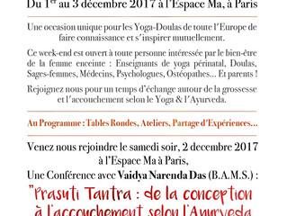 2ème rencontre annuelle des yoga-doulas à Paris
