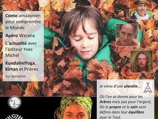 Évènement à La Villette : Naître et connaître en liberté avec GaïaTree