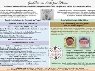 GaïaTree, une Arche pour l'Avenir - vendredi 18 et samedi 19 juin 2021
