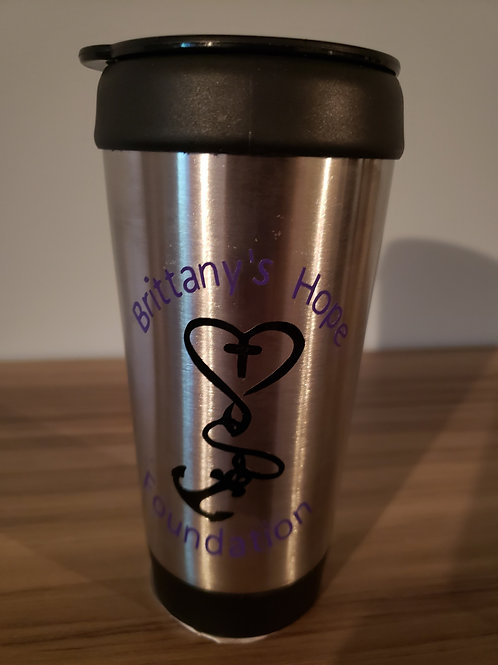 Brittany's Hope Foundation Coffee Traveler