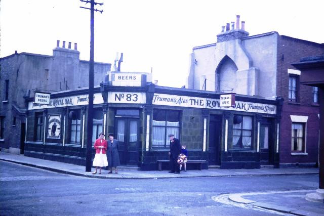 Royal Oak Pub in 1958, photo care of Raymond Carter