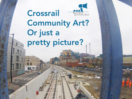 Crossrail artwork, you don't say?