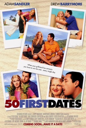 What could be more romantic than a guy having to figure out new ways to woo his beloved into loving him again each and every day? Sandler's rep has crumbled in the last few years, but this will forever be a rom-com classic!