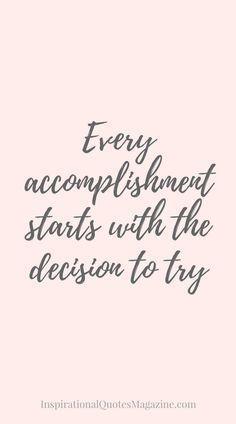inspiration quote, goals, motivation