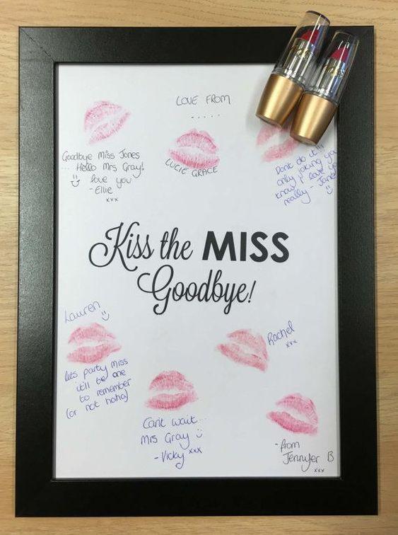 kiss the miss idea