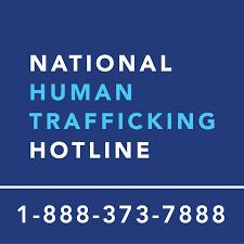 Human Trafficking number