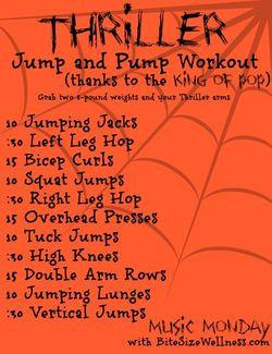 thriller jump and pump