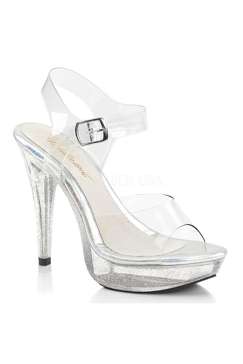 Glitter pleasers heel