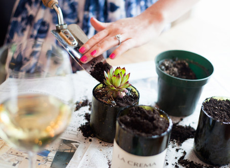 Bottoms Up(cycle)! 15 Things to Do with an Old Champagne Bottle
