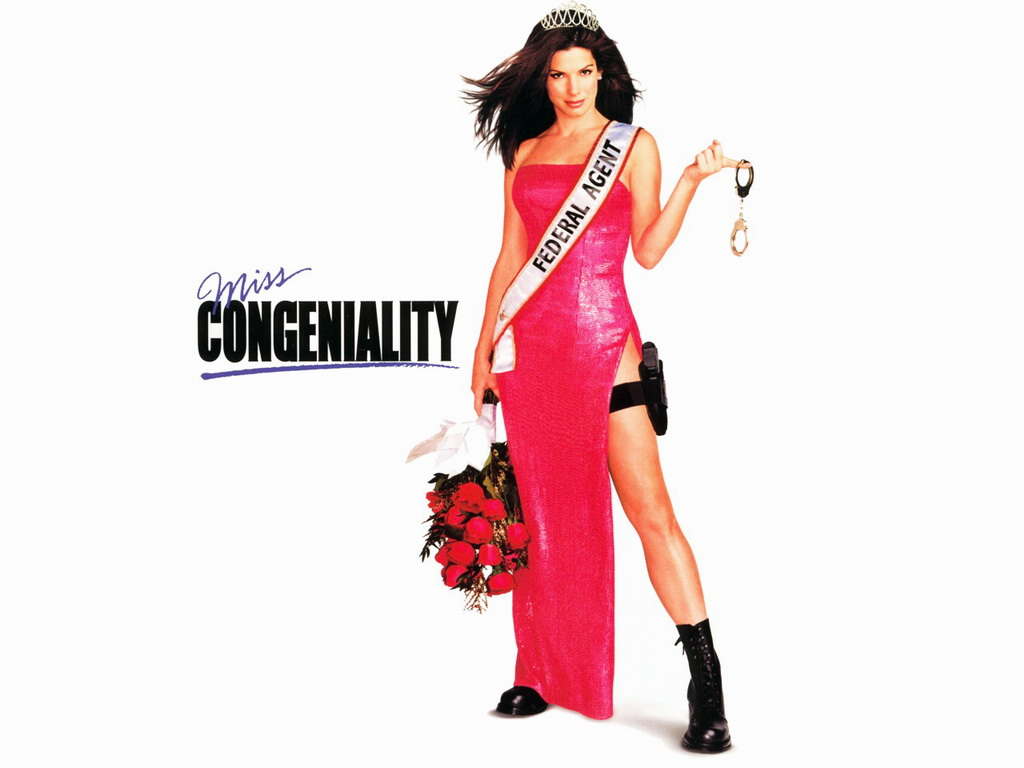 """An oldie, but a goodie. Miss Congeniality is probably Sandra Bullock's greatest film. She's an extremely talented actress and the Blind Side was awesome.. but nothing says """"girl's night"""" like watching Sandy B. figure out """"how to girl."""""""