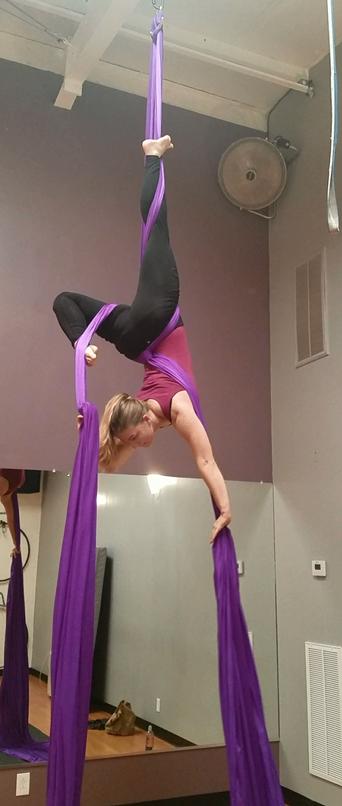 Flexibility pose