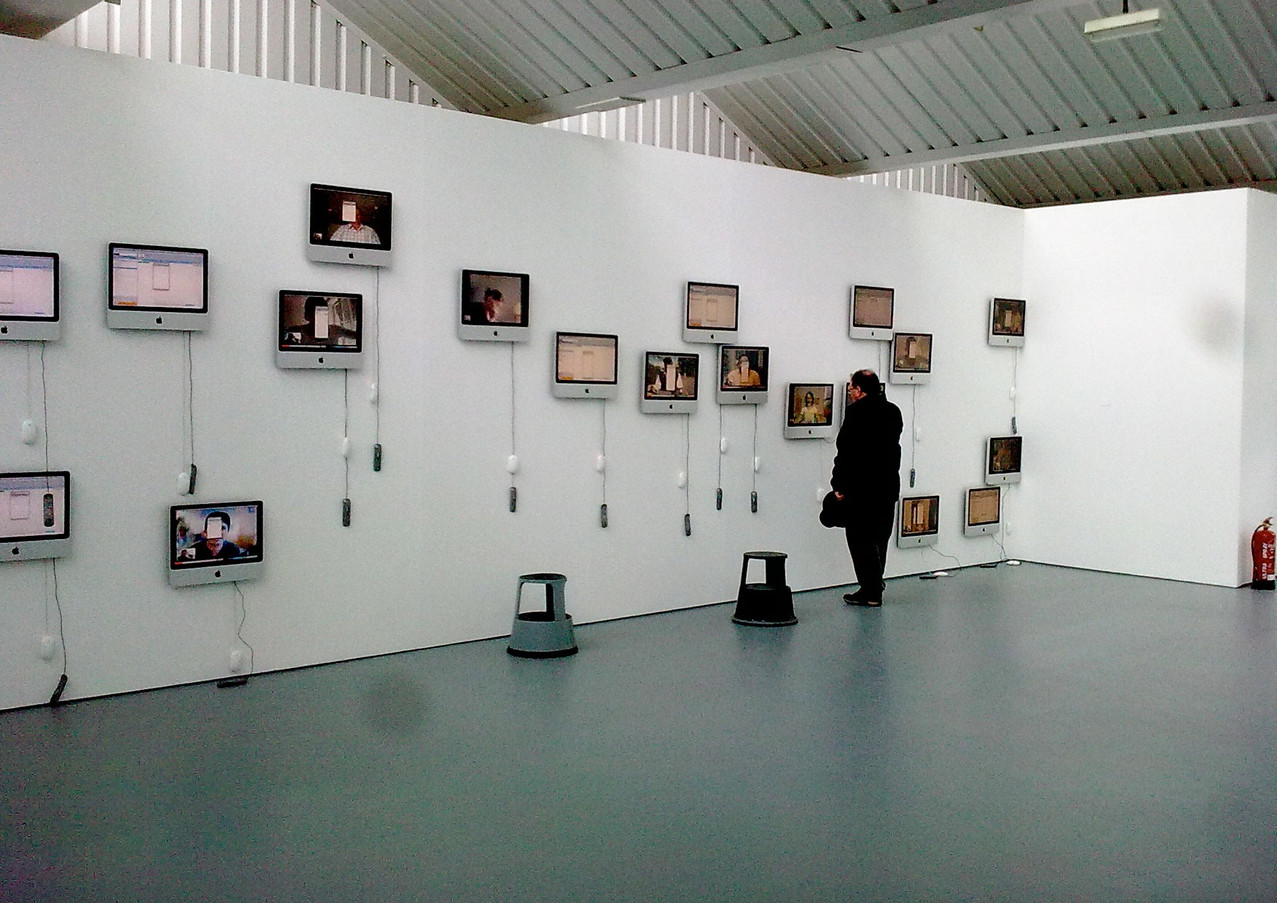 24 hours, installation view