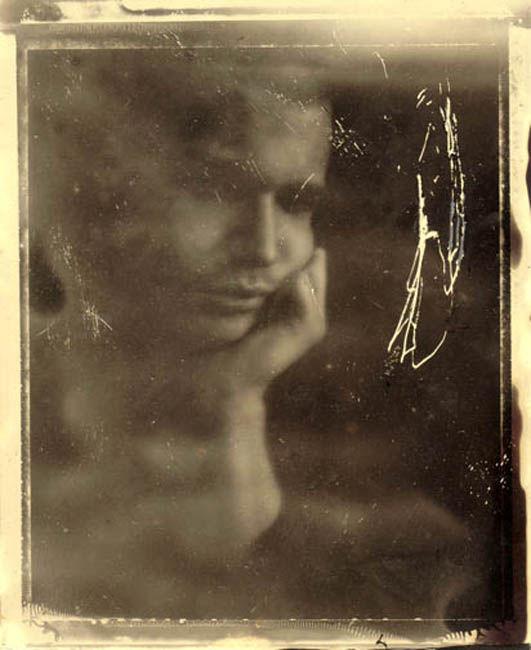 Tintype Portrait 4x5