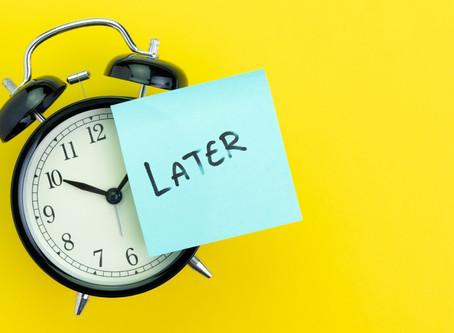 Ideas to Avoid Procrastinating