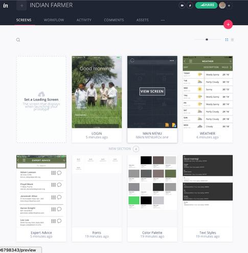 Indian Farmer iPhone App (prototype)
