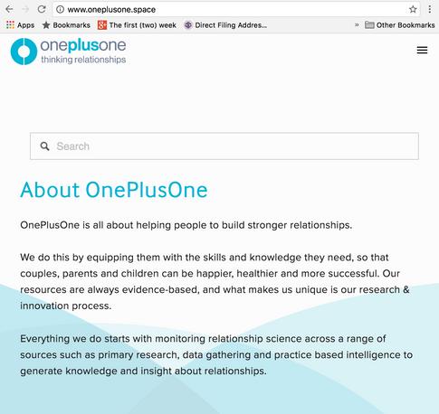 OnePlusOne Branding and UX